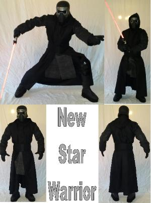 Kylo ren ( from star wars) super hero birthday character costume rental in Houston, Texas.
