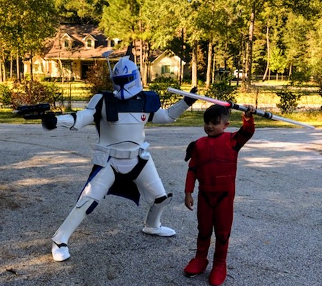 Rent our superhero space trooper for your childs birthday party with great games and awesome pictures