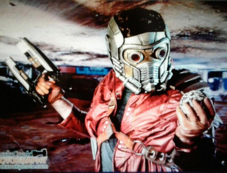 starlord from guardians of the galaxy for birthday parties rental in Houston, Texas.
