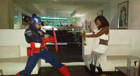 houston superhero birthday party