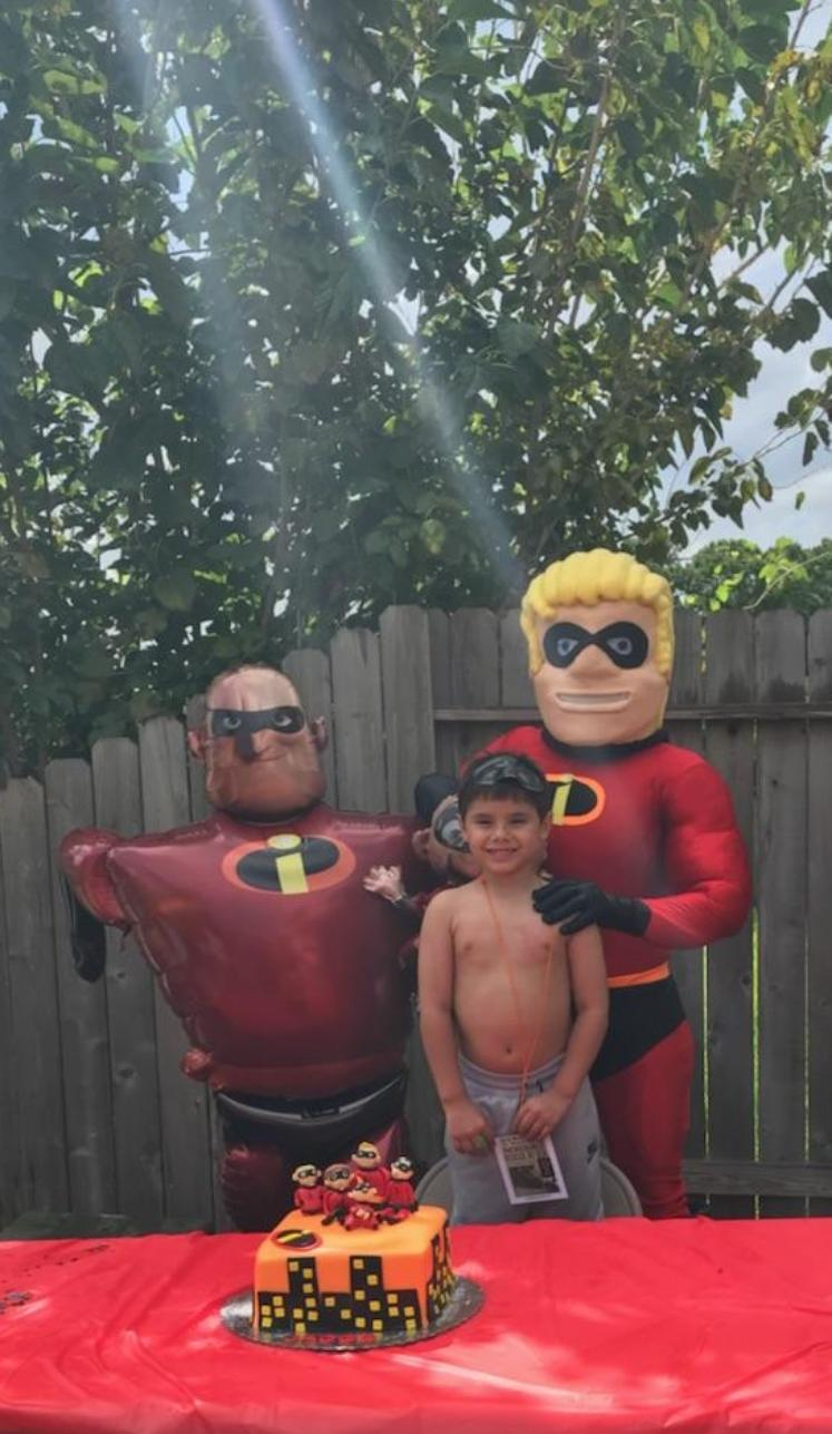 Rent childrens entertainers for Houston super hero costumed character mascot.