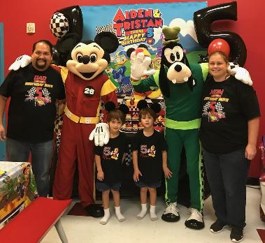 When it's time for your next Houston area birthday party hire some costumed character mascots that talk and come with great games.