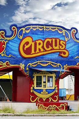 Houston circus birthday partry for kids 8x8 backdrop to set up the carnival games in front of.