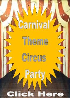 Houston has a carnival or circus theme available for your next birthday party and your little birthday child. The carnival package includes 2 clowns, 2 circus themed backdrops, 8 carnival themed games, and photo props for pictures. Book early... it will fill up fast.