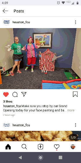 Our $250 circus package includes a clown to play games for 2 hours and an artist for face painting and balloons for 2 hours for houston birthday parties