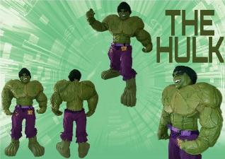 Houston birthday party super heroes Hulk costumed characters