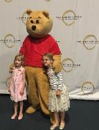 Hire our honey bear for a fun and exciting party with a great costume, a great voice, and great games in Houston.