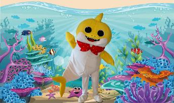 Hire this fun loving mascot costumed character for your Houston birthday party with singing, games, & prizes.
