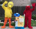 Have these awesome costumed mascots at your next birthday if you like the best costumes and activities in houston texas.