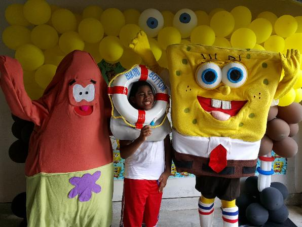 Hire these 2 mascot characters for your next Houston birthday party of fun event.