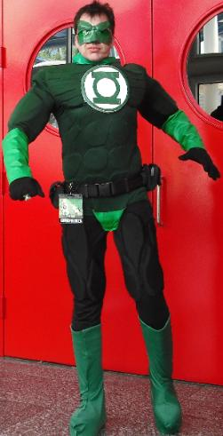 Rent a Green Lantern super hero character for your birthday party in Houston, Texas