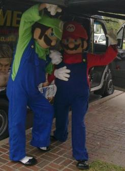 Houston super mario brothers birthday party