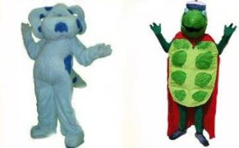 Hire a blast from the past mascot costume character for Houston kids birthday parties for something new that ia actually something old.
