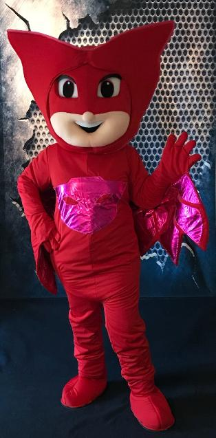 Hire this all star hero fly into your next mascot superhero party in Houston with great games and activities.