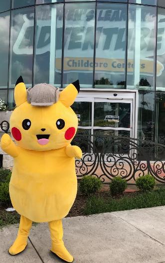 Hire our poke pal for your child's next Houston birthday party.