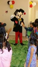 mascot party houston