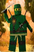 Ninjago super hero costumed character mascot for Birthdays in Houston, Tx.