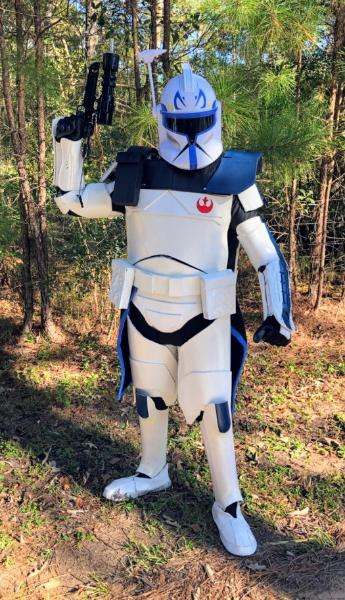 Rent our superhero space trooper for your birthday party celebration in Houston