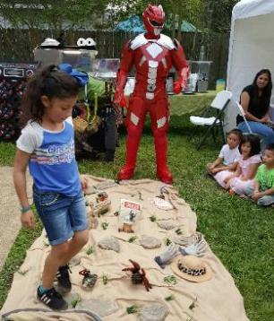 Houston superhero party does superhero training in Katy, Texas.