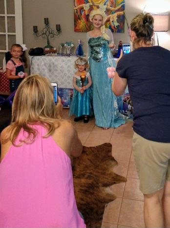 Rent a Houston birthday party princess character for your special event