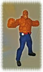 The thing from fantastic 4 costumed characters for rental at kid's parties in Houston, Texas.